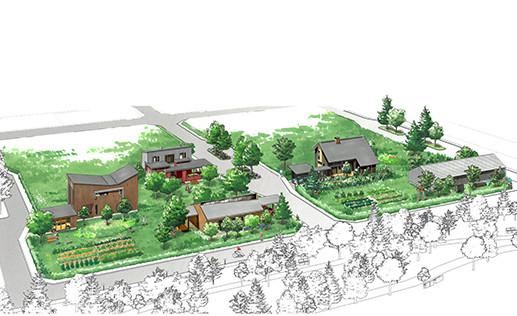 南幌×建築家×地域工務店 南幌町 みどり野きた住まいるヴィレッジ